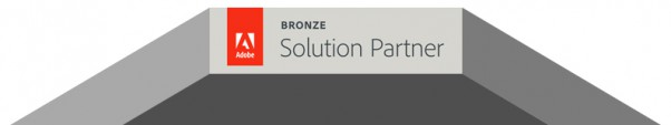 nesea certificazione Adobe Solution Partner badge