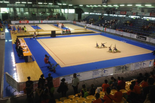 Nesea SportCARE per Ginnastica in Festa 2016 a Pesaro