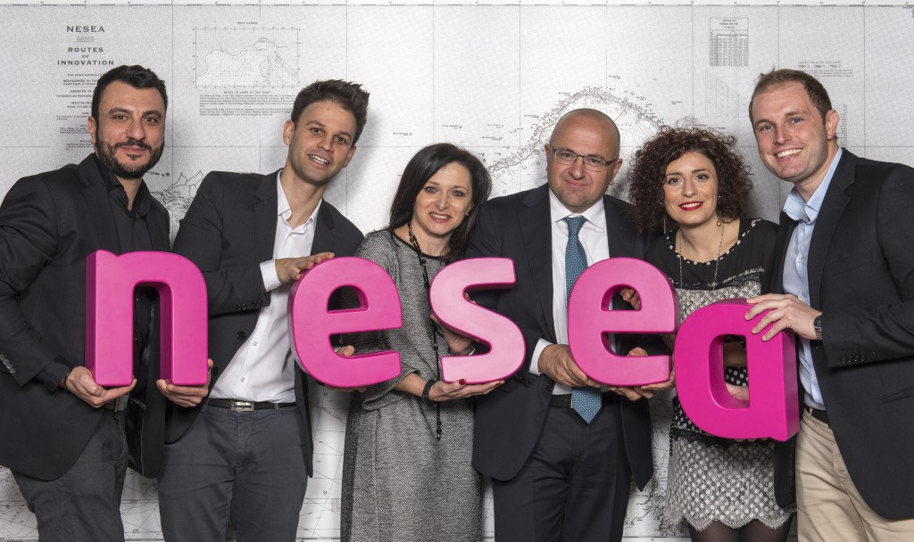 Il team nesea presenta il nuovo logo