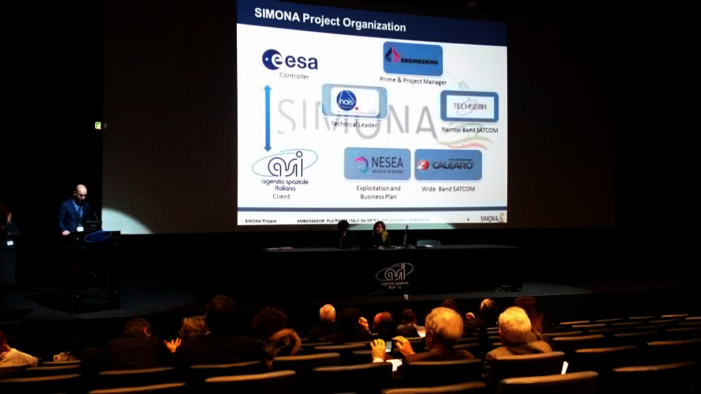 La presentazione di SIMONA al workshop ASI
