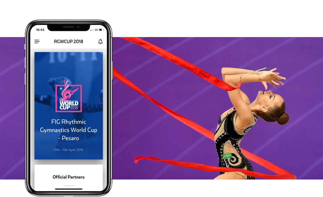 SportCARE app ginnastica ritmica