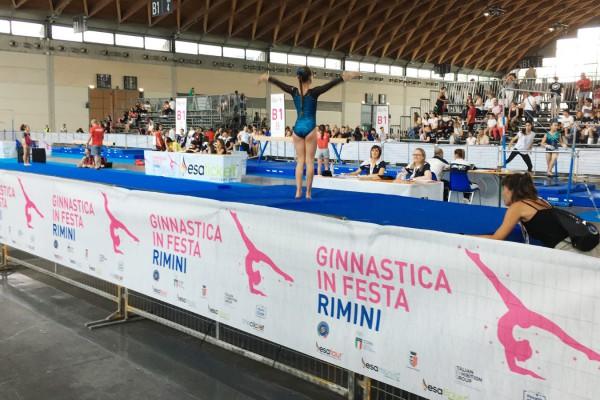 Con nesea SportCARE la Ginnastica in festa va di scena a Rimini