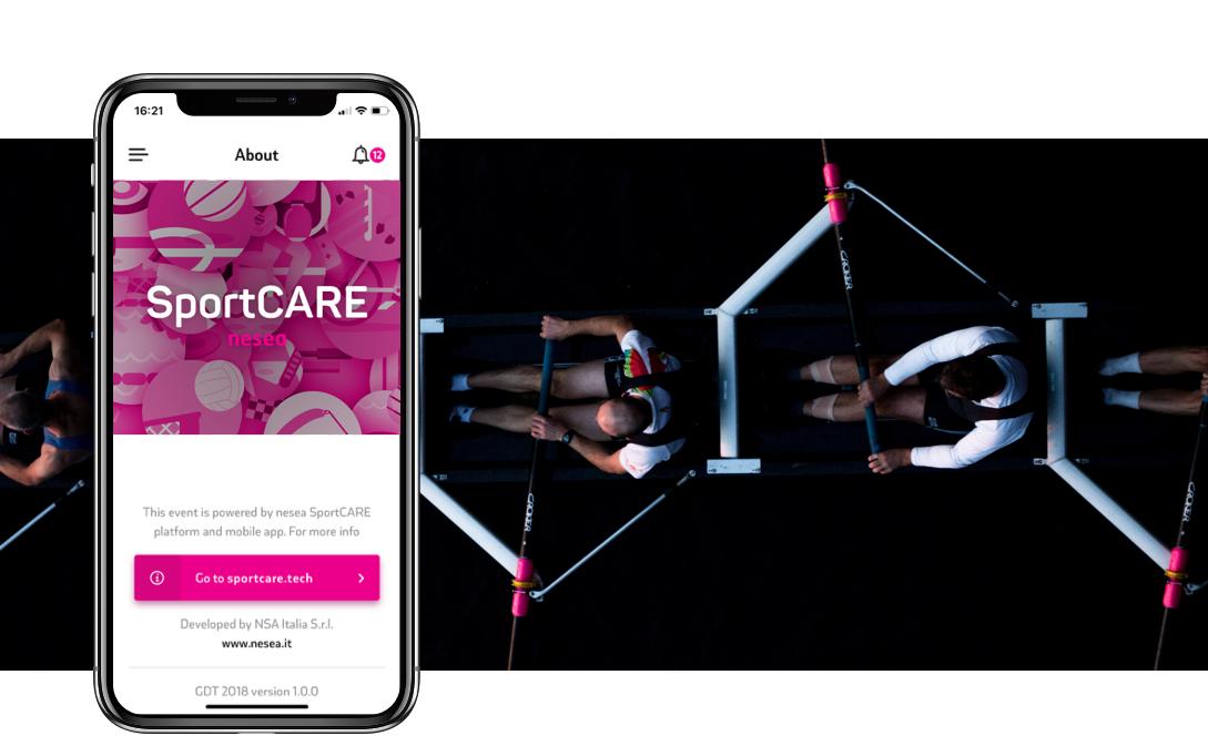 App e piattaforma SportCARE by nesea