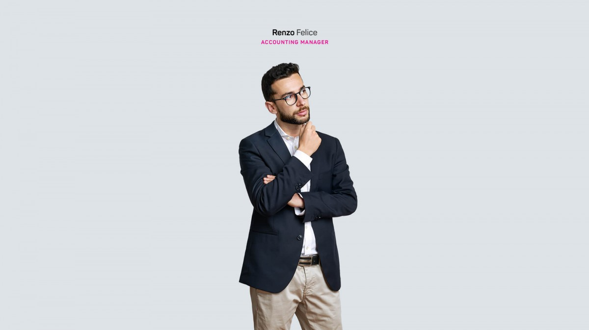 Renzo Felice accounting manager di nesea